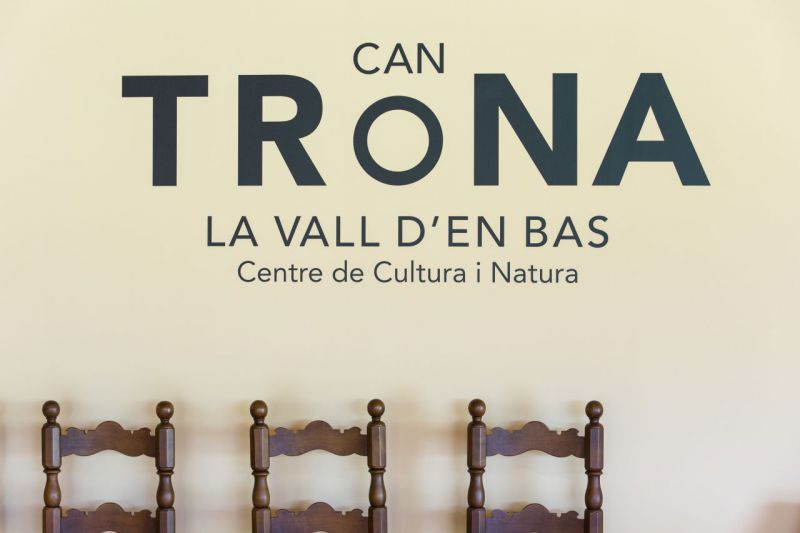 Can Trona. Centre de Culture et Nature de la Vall d'en Bas.